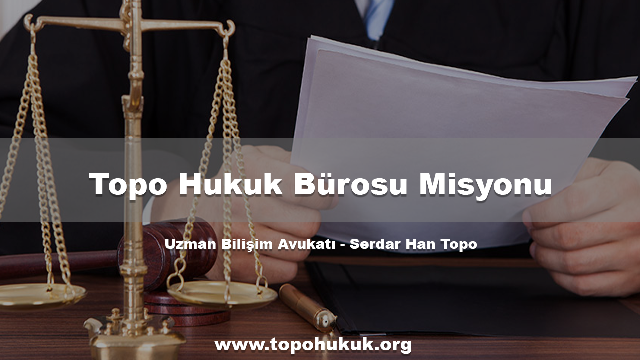 Photo of Topo Hukuk Bürosu'nun Misyonu