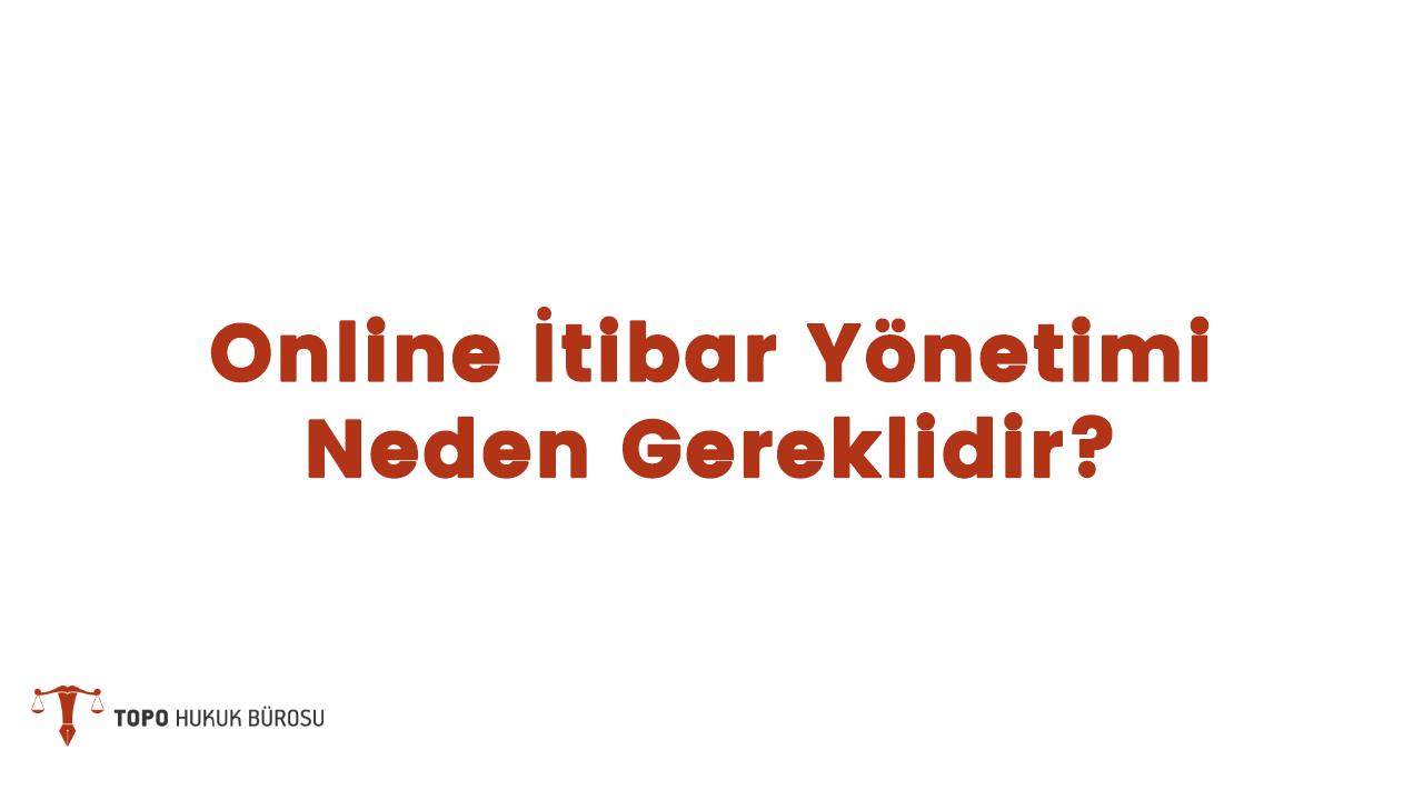 Photo of Online İtibar Yönetimi Neden Gereklidir?
